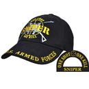Eagle Emblems CP00134 Cap-Sniper, U.S. (Brass Buckle)