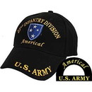 Eagle Emblems CP00137 Cap-Army, Americal Div.Vet (Brass Buckle)