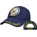 Eagle Emblems CP00202 Cap-Usn Logo, Rnd (Brass Buckle)