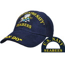 Eagle Emblems CP00207 Cap-Usn, Seabees (Brass Buckle)