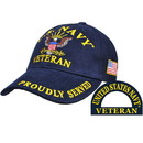 Eagle Emblems CP00211 Cap-Usn, Veteran Ii (Brass Buckle)