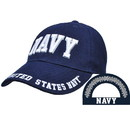 Eagle Emblems CP00212 Cap-Usn, Letters, Navy (Brass Buckle)