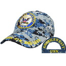 Eagle Emblems CP00215 Cap-Usn Logo, Camo. (Brass Buckle)