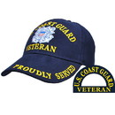 Eagle Emblems CP00278 Cap-Uscg, Veteran (Brass Buckle)
