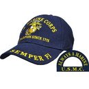 Eagle Emblems CP00300 Cap-Usmc, A Tradition 1775 (Brass Buckle)