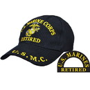 Eagle Emblems CP00303 Cap-Usmc, Retired (Brass Buckle)