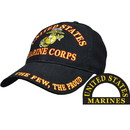 Eagle Emblems CP00306 Cap-Usmc Logo, The Few, Ega (Brass Buckle)