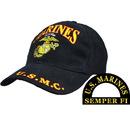 Eagle Emblems CP00329 Cap-Usmc Logo, Marines (Brass Buckle)