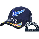Eagle Emblems CP00402 Cap-Woman Veteran, Usaf (Brass Buckle)