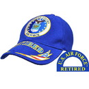Eagle Emblems CP00403 Cap-Usaf Emblem Retired (Brass Buckle)