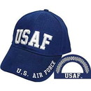 Eagle Emblems CP00405 Cap-Usaf, Letters (Brass Buckle)
