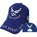 Eagle Emblems CP00408 Cap-Usaf Symbol Ii (Brass Buckle)