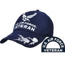 Eagle Emblems CP00412 Cap-Usaf Symbol Veteran (Brass Buckle)