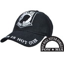 Eagle Emblems CP00503 Cap-Pow*Mia, Logo (Brass Buckle)