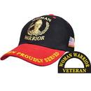Eagle Emblems CP00507 Cap-Woman Warrior (Brass Buckle)