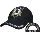 Eagle Emblems CP00521 Cap-Wounded Warrior (Brass Buckle)