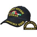 Eagle Emblems CP00607 Cap-Dest.Storm, Vet. (Brass Buckle)