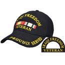 Eagle Emblems CP00613 Cap-Iraqi Freedom, Veteran (Brass Buckle)