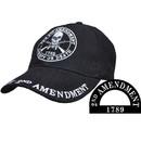Eagle Emblems CP00703 Cap-2Nd Amendment, 1789 (Brass Buckle)