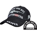 Eagle Emblems CP00815 Cap-Sniper, One Shot (Brass Buckle)