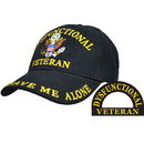 Eagle Emblems CP00819 Cap-Dysfunctional Vet. (Brass Buckle)