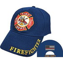 Eagle Emblems CP01700 Cap-Fire Dept. (Brass Buckle)