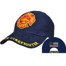 Eagle Emblems CP01707 Cap-Fire Dept.Volunteer (Brass Buckle)