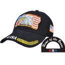 Eagle Emblems CP02010 Cap-Usa, American Eagle (Brass Buckle)