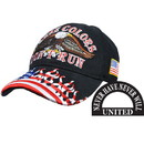 Eagle Emblems CP02015 Cap-Usa, These Colors Dont (Brass Buckle)