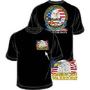 Eagle Emblems CS1002 Tee-American Warriors