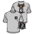 Eagle Emblems CS1020 Tee-Wounded Warrior, Eagle