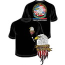 Eagle Emblems CS1032 Tee-American Heroes
