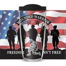 Eagle Emblems CU1027 Cup-Wounded Warrior, 16 oz