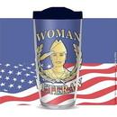 Eagle Emblems CU1050 Cup-Woman Veteran, 16 oz