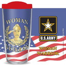 Eagle Emblems CU1052 Cup-Woman Vet, Us Army, 16 oz