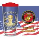 Eagle Emblems CU1054 Cup-Woman Vet, Us Marines, 16 oz