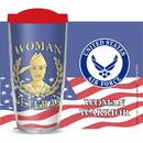 Eagle Emblems CU1058 Cup-Woman Vet, Us Air Force, 16 oz
