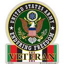 Eagle Emblems DC0014 Sticker-Endur Freed.Army (3-1/2