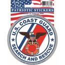 Eagle Emblems DC0018 Sticker-Endur Freed.Uscg (3-1/2