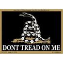 Eagle Emblems DC0073 Sticker-Dont Tread On Me (Blk) (3