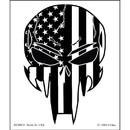 Eagle Emblems DC0074 Sticker-Sniper Skull/Subdued
