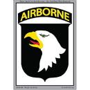 Eagle Emblems DC0104 Sticker-Army, 101St A/B (3