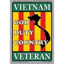 Eagle Emblems DC0113 Sticker-Vietnam, Veteran (3