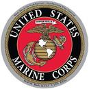 Eagle Emblems DC0130 Sticker-Usmc Logo (3-1/2