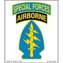 Eagle Emblems DC0136 Sticker-Special Forces Ab (Clear Vinyl) (3