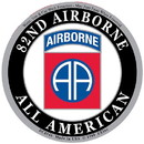 Eagle Emblems DC0146 Sticker-Army, 082Nd A/B (3