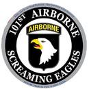 Eagle Emblems DC0148 Sticker-Army, 101St A/B (3