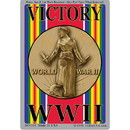 Eagle Emblems DC0304 Sticker-Wwii, Victory (3-1/4