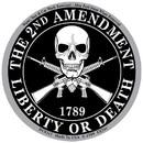 Eagle Emblems DC0311 Sticker-2Nd Amendment (3-1/4