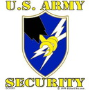 Eagle Emblems DC8105 Sticker-Army, Security (Adhesive Face Vinyl) (3-1/4